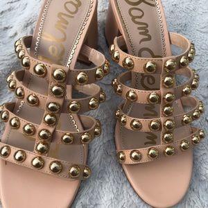 Sam Edelman Suri Studded Block Heel Sandals